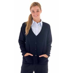 Ladies Cardigan, Wool Blend - 4332
