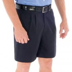 275gsm Poly/Viscose Pleat Front Permanent Press shorts - 4501