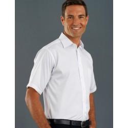Mens S/S Poplin Shirt - 201