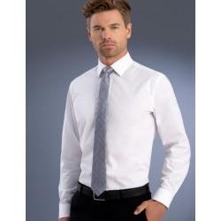 Mens Slim Fit L/S Poplin Shirt - 800