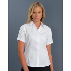 Womens S/S Poplin Shirt - 102