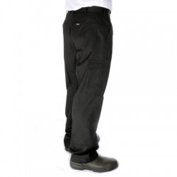 275gsm Poly/Viscose Permanent Press Cargo Trousers - 4504