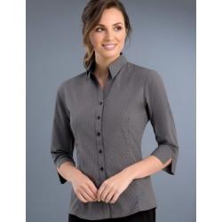 Womens 3/4 Small Check Shirt - 774