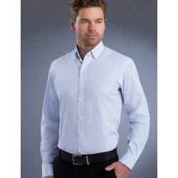Mens L/S Mini Check Shirt - 824