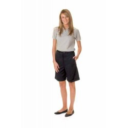 275gsm Ladies Permanent Press Flat Front Shorts - 4551