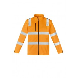 Unisex Hi Vis Vic Rail 2 in 1 Softshell Jacket - ZJ780