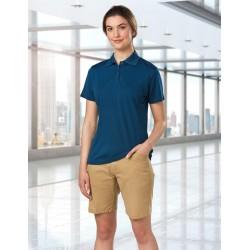 Ladies Boston Chino Stretch Shorts - M9391