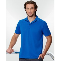 Mens Bamboo Charcoal Corporate Short Sleeve Polo - PS87