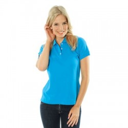 220gsm Ladies Cotton Rich New York Polo - 5258