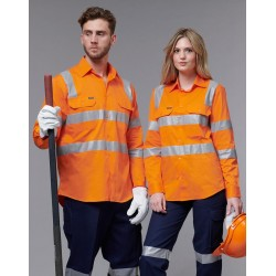 Unisex Biomotion Vic Rail Light Weight Safety Shirt - SW55