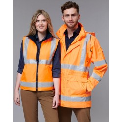 Unisex Vic Rail Three in 1 Jacket and Vest - SW77