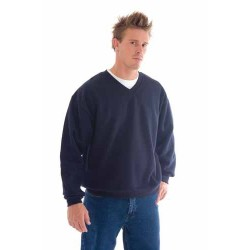 300gsm V-Neck Fleecy Sweatshirt (Sloppy Joe) - 5301
