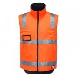 Reversible Polar Fleece Traffic Vest - K8132
