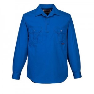 Adelaide Shirt Closed front L/S - MC903