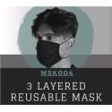 3 Layered Reusable Mask - MSK004