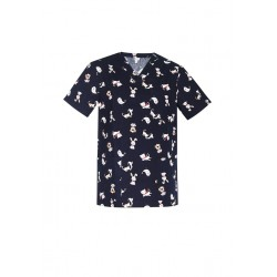 MENS BEST FREINDS SCRUB TOP - CST147MS