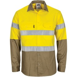 HI VIS COOL-BREEZE VENTED, L/S WITH TAPE - 3784