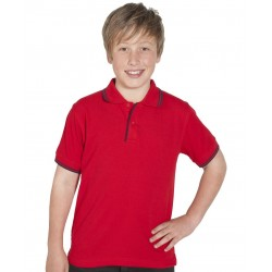 KIDS CONTRAST POLO - 2KCP