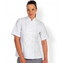 Ladies S/S Chefs Jacket - 5CJ21