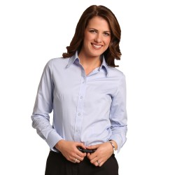 Women's CVC Oxford Long Sleeve Shirt - M8040L