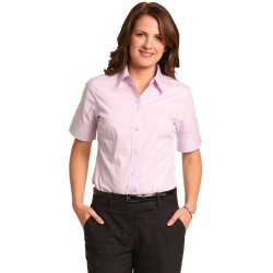 Women's CVC Oxford Short Sleeve Shirt - M8040S