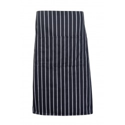 Striped Apron - Full-waist - AP602L