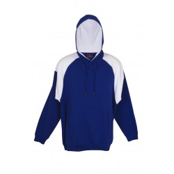 Adults Shoulder Contrast Panel Hoodie - F303HP