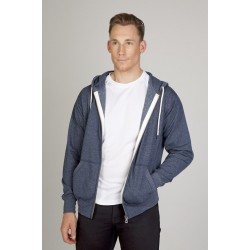 Mens Greatness Heather Zip Hoodie - F750HZ