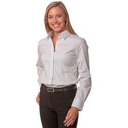 Womens Ticking Stripe Long Sleeve Shirt - M8200L