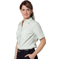 Womens Balance Stripe Short Sleeve Shirt - M8234
