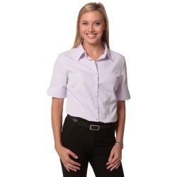 Womens Mini Check Short Sleeve Shirt - M8360S