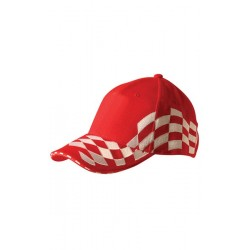 Contrast Check & Sandwich Racing Cap - CH99