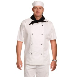 CHEF'S SHORT SLEEVE JACKET - CJ02
