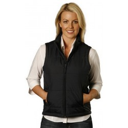 Ladies Nylon Rip-stop Padded Vest - JK30