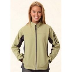 Ladies Contrast Softshell Jacket - JK32
