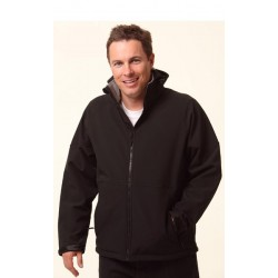 Mens Softshell Hooded Jacket - JK33
