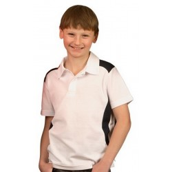 Kids TrueDry Short Sleeve Contrast Polo - PS31K