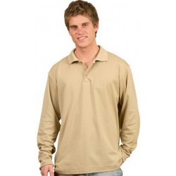 Mens TrueDry Long Sleeve Polo - PS35