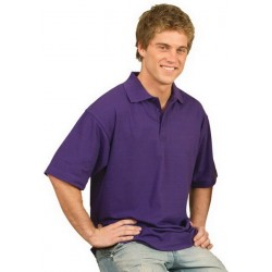 Mens Short Sleeve 100% Cotton Pique Polo - PS39