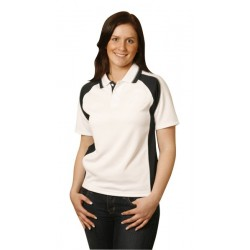 Ladies CoolDry Short Sleeve Con- trast Polo - PS50