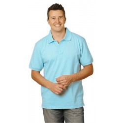 Mens Cotton Stretch Pique Polo - PS55