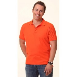 Mens TrueDry Solid Colour Pique Polo - PS63