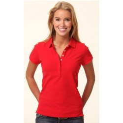 Ladies TrueDry Solid Colour Pique Polo - PS64