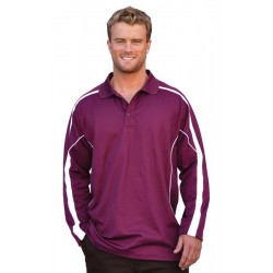 Mens TrueDry Long Sleeve Polo - PS69