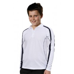 Kids TrueDry Long Sleeve Polo - PS69K