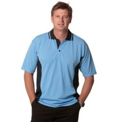 Mens TrueDry Contrast Short Sleeve Polo - PS73