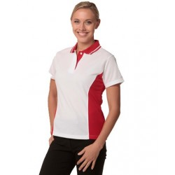 Ladies TrueDry Contrast Short Sleeve Polo - PS74