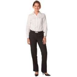 Womens Poly/Viscose Stretch Low Rise Pants - M9420