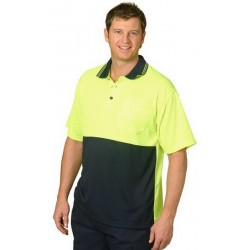 CoolDry Micro-mesh Safety Polo - SW01CD