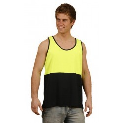 High Visibility TrueDry Mesh Knit Safety Singlet - SW15